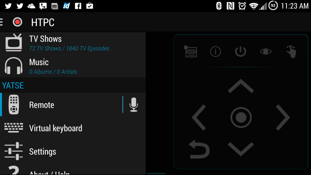 How to Control XBMC from Tasker