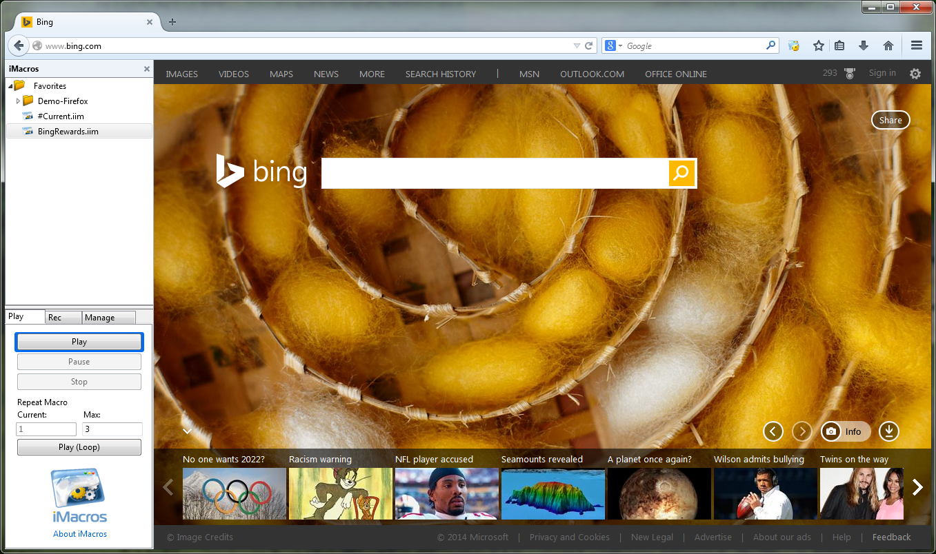 Taking Bing Rewards Automation to the Next Level