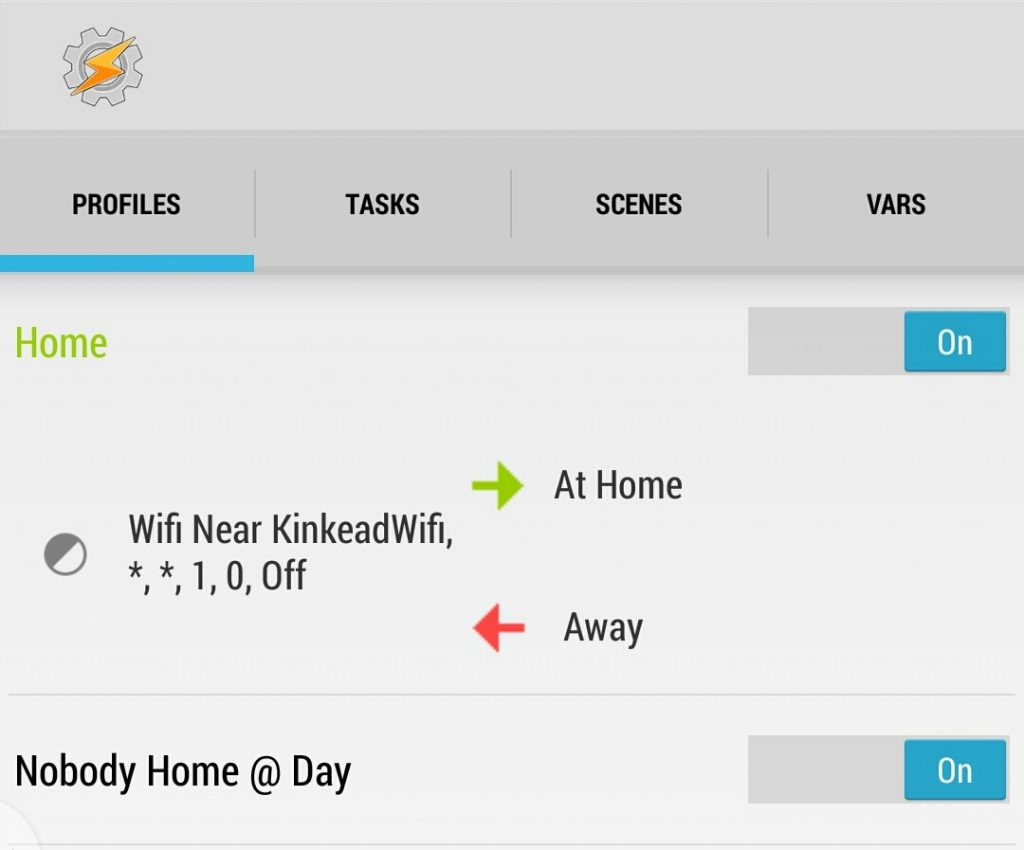 Home Security System with Tasker