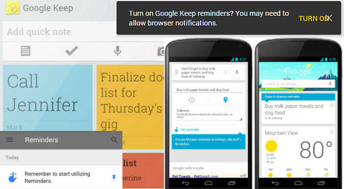 Google Now, Inbox, & Keep's Mess of Unconnected Reminders