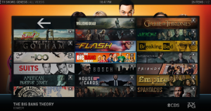 Genesis Add-on for XBMC and Kodi Banners