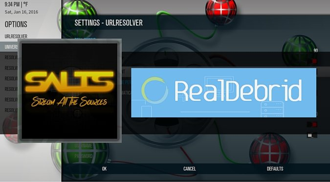 How to Install Kodi SALTS with Real-Debrid