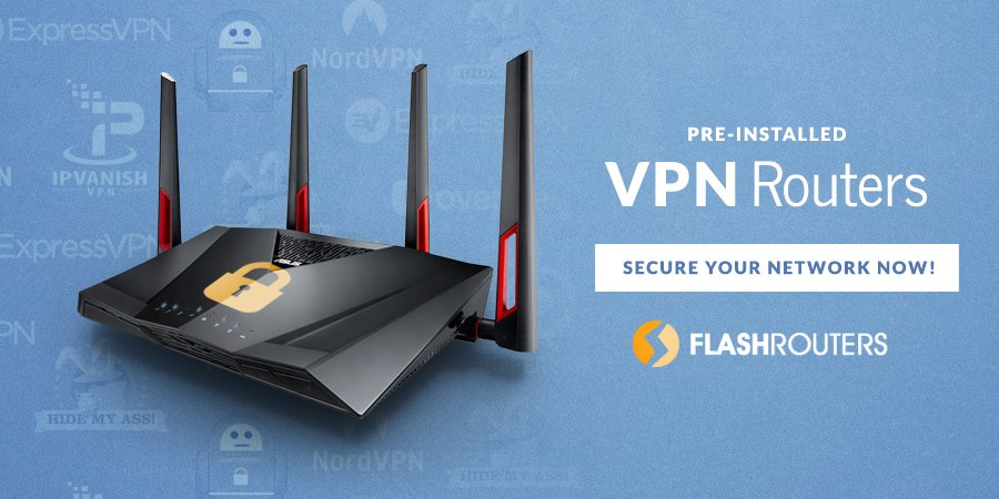 whole-house VPN Routers from FlashRouters