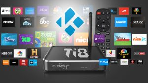 Android TV Box Kodi Ti8