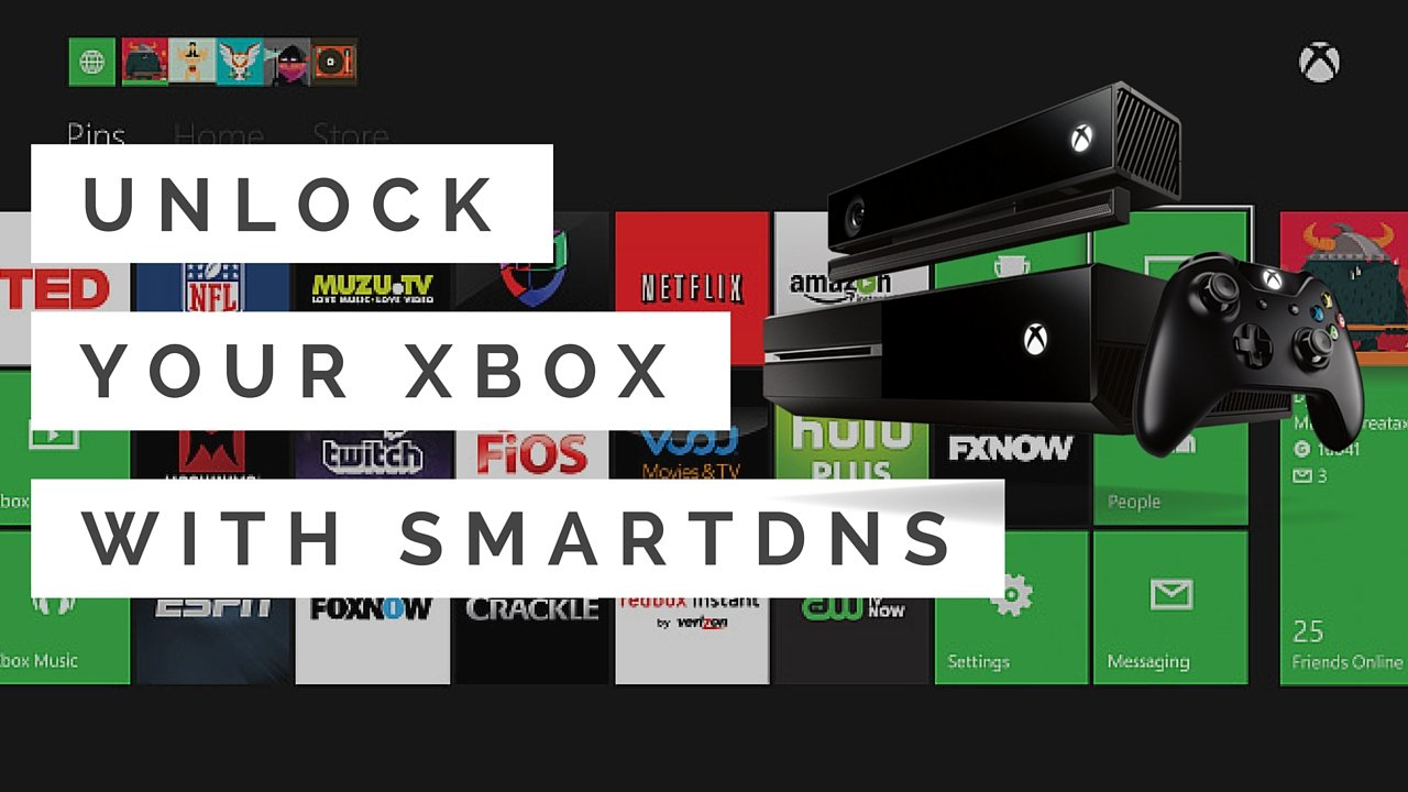 Unlock Your Xbox With SmartDNS