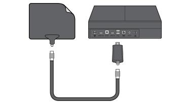 Xbox One TV Tuner Antenna Diagram