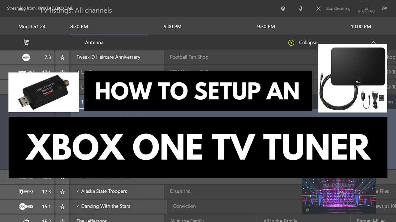 How To Setup An Xbox One Tv Tuner Different Types Of