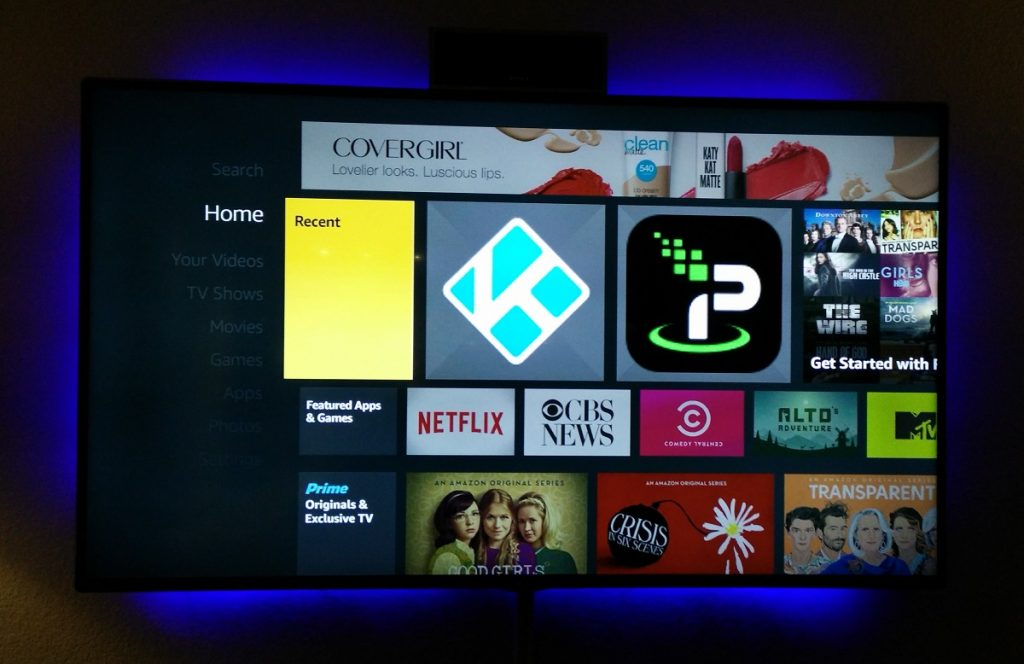Kodi and IPVanish VPN on Amazon Fire TV Stick
