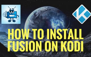 How to Install Fusion on Kodi
