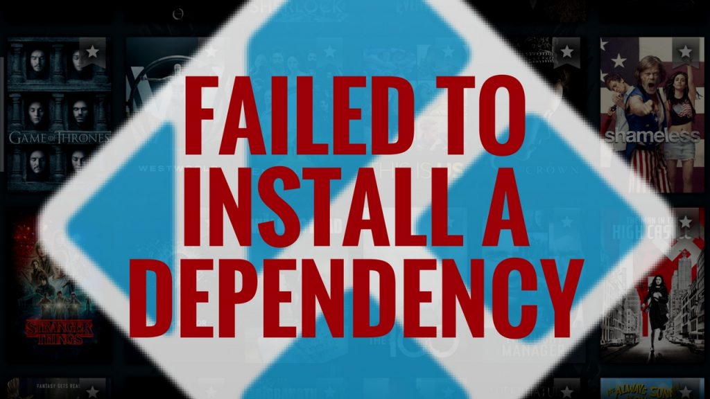 Failed to Install a Dependency