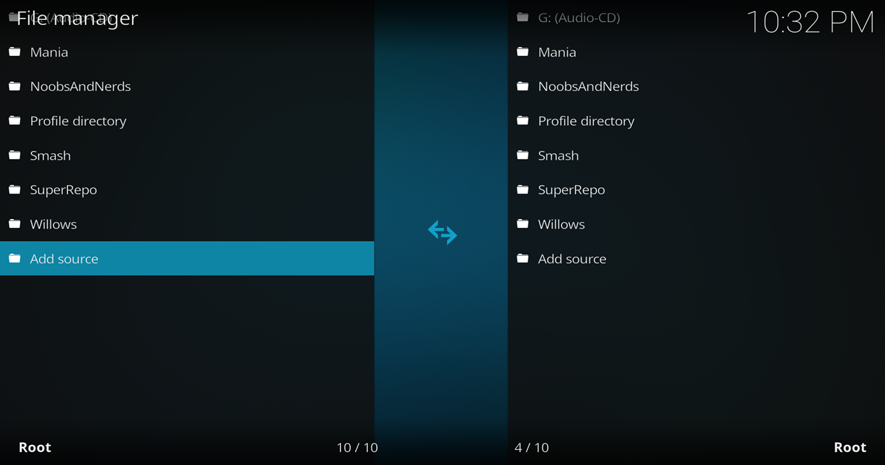 how to add vpn manager to kodi