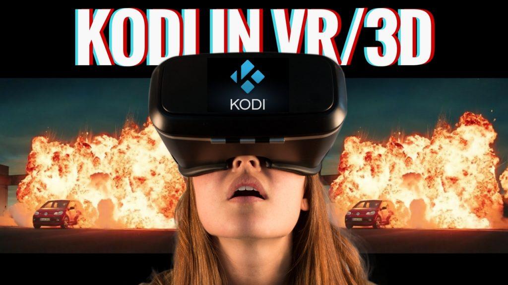 Kodi in VR 3D