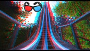 Anaglyph 3D image