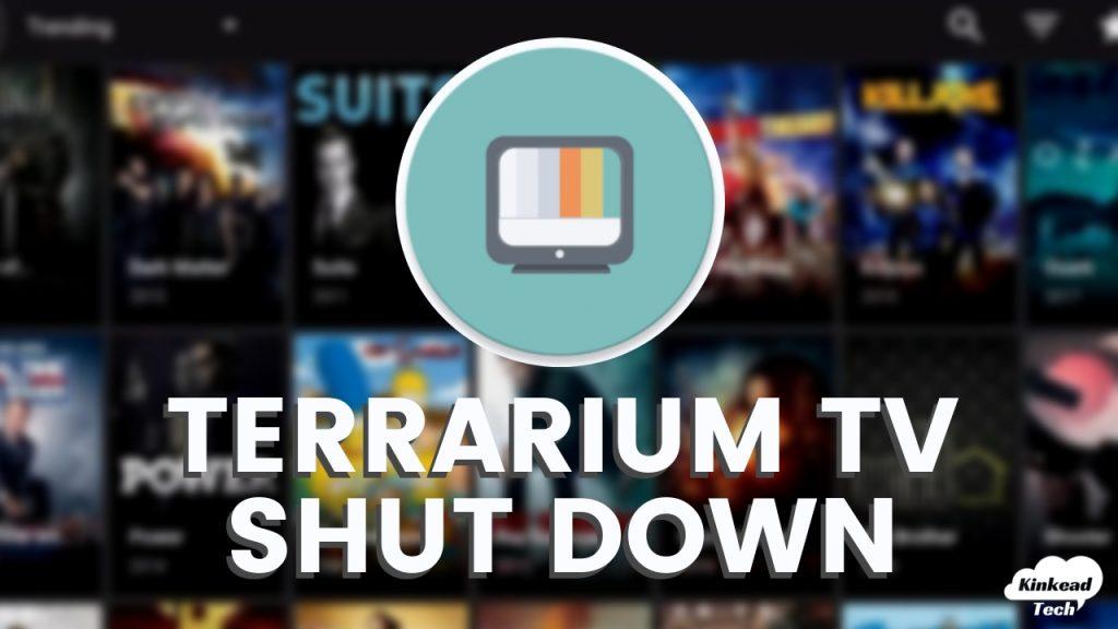 Terrarium TV Shut Down