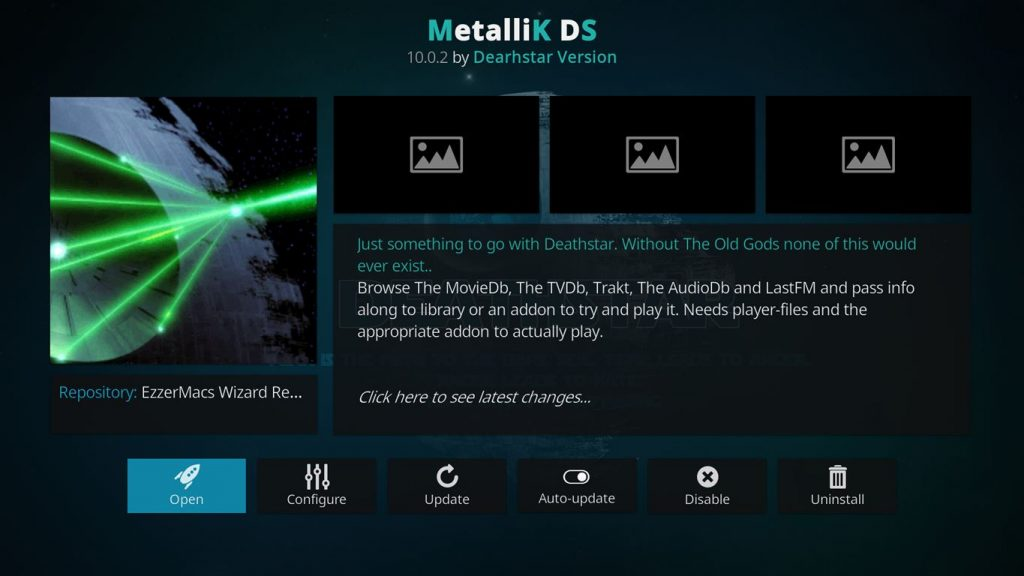 MetalliK DS Kodi Add-on