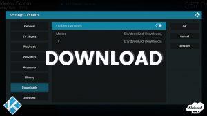 Downloads In Kodi Add Ons