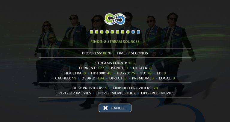 Gaia Scraping Screen