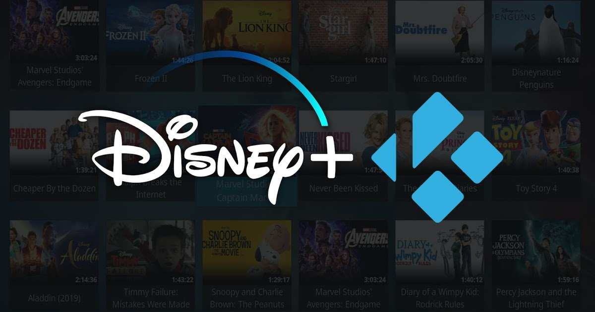 Disney+Kodi
