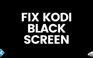 How to Fix a Black Screen on Kodi (5 Things to Try)