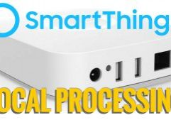 SmartThings Local Processing