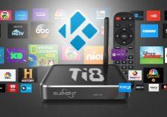 Android TV Box Kodi Ti8